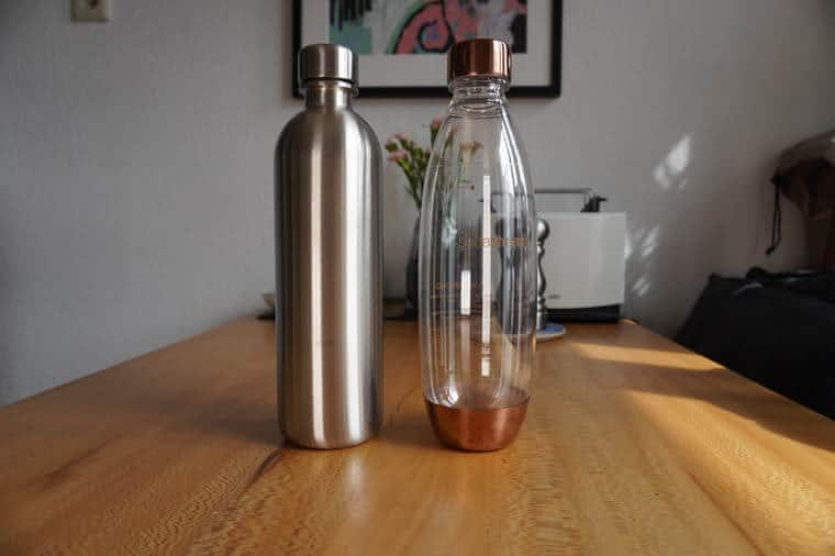 Mate of Steel vs. SodaStream PET-Flasche
